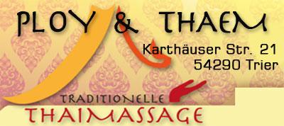 Ploy&Thaem Thaimassage Trier